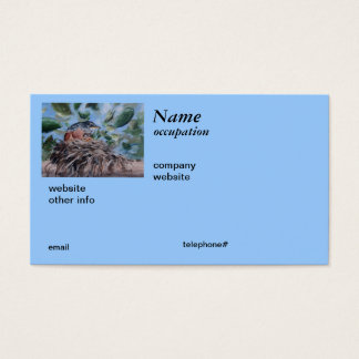 Protecting Robin Business Cards