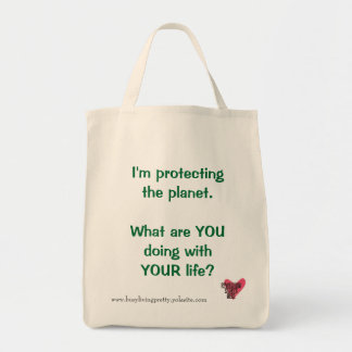 Protecting the Planet Grocery Tote