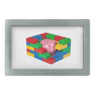 Protecting your child's savings rectangular belt buckles