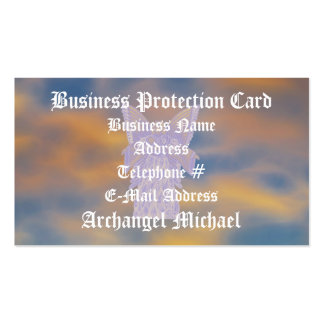 Protection Archangel Michael-Customize Business Cards