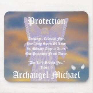 Protection Archangel Michael-Customize Mouse Pad