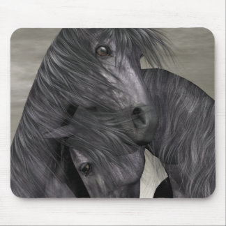 Protection At All Costs - Horses Mouse Pad