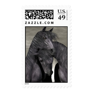 Protection At All Costs - Horses- Postage Stamps