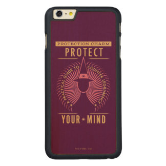Protection Charm Guidebook Carved® Maple iPhone 6 Plus Case