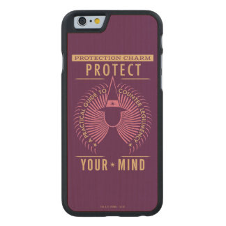 Protection Charm Guidebook Carved Maple iPhone 6 Slim Case