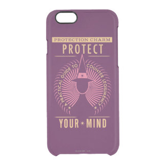 Protection Charm Guidebook Clear iPhone 6/6S Case