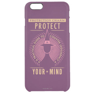 Protection Charm Guidebook Clear iPhone 6 Plus Case