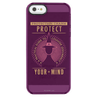 Protection Charm Guidebook Clear iPhone SE/5/5s Case
