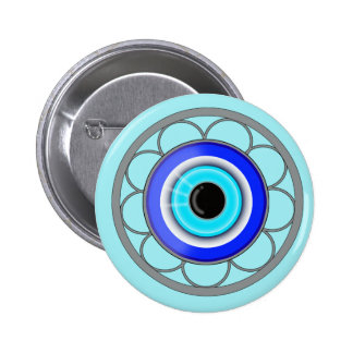 Protection From Bad Luck- Evil Eye - Button