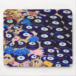 Protection From The Evil Eye - Boncuk Mouse Pad