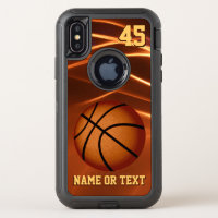 Protection OtterBox Defender Basketball iPhone Cas