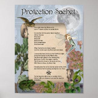 PROTECTION SACHET POSTER