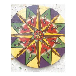 Protection Star Mandala Letterhead