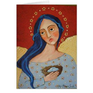 Protective Angel Greeting Card