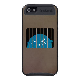Protective Dark Evil Monster Kingpin Jailed Cover For iPhone 5