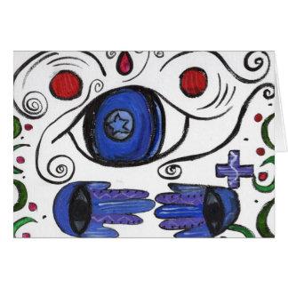Protective Evil Eye Design Card