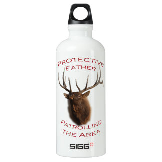 Protective Father Aluminum Water Bottle