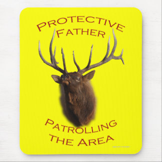 Protective Father Mouse Pad