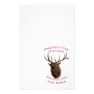Protective Father Stationery