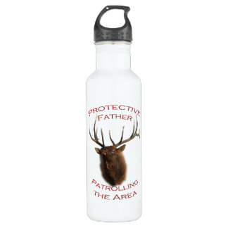 Protective Father Water Bottle