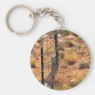 Protective Fencing for Desert Tortoise Habitat Key Chains