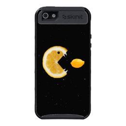 Protective Funny Lemon Eats Lemon iPhone 5 Covers