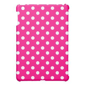 Protective iPad Mini Case - Hot Pink Polka Dot
