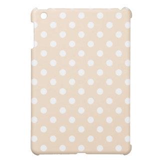 Protective iPad Mini Case - Linen Pink Polka Dot
