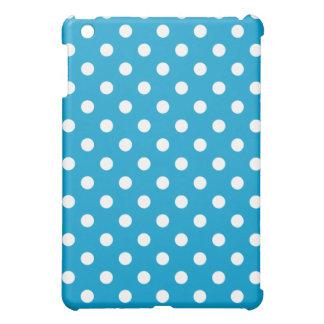 Protective iPad Mini Case - Ocean Blue Polka Dot
