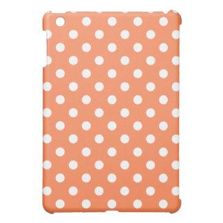 Protective iPad Mini Case - Orange Polka Dot