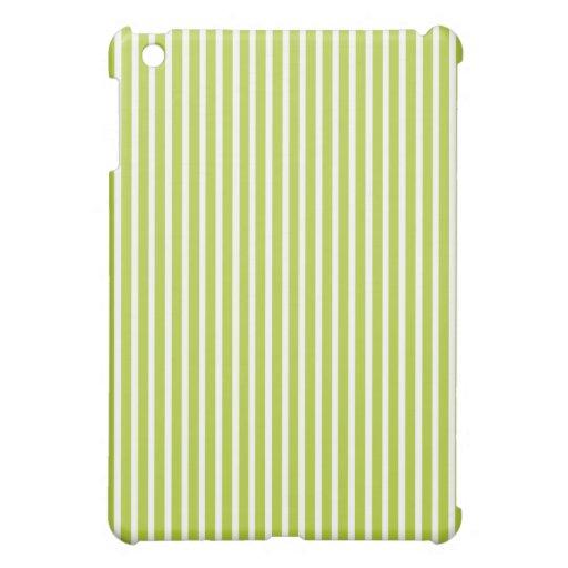 Protective iPad Mini Cases - Green Striped