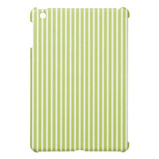 Protective iPad Mini Cases - Light Green Striped