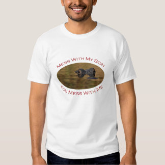 Protective Parent With Son T Shirt