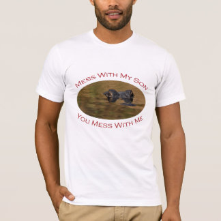 Protective Parent With Son T-Shirt