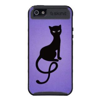 Protective Purple Gracious Evil Black Cat