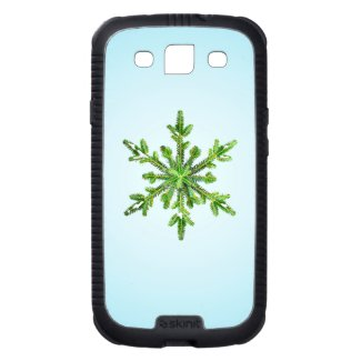 Protective Stylish Winter Snowy Pine Snowflake
