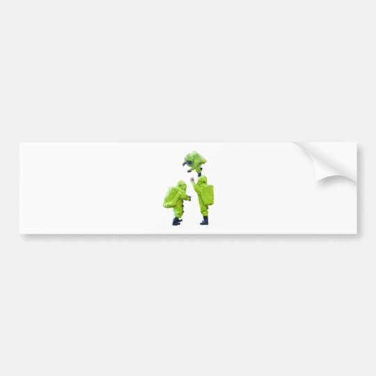 protective suit bumper sticker