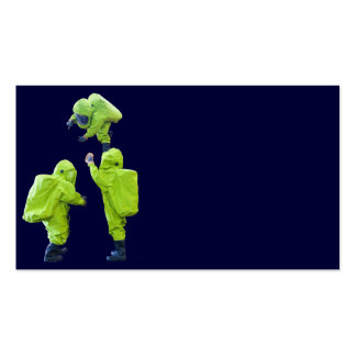 protective suit business card