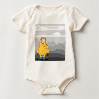 Protective Suit Illustration Baby Bodysuit