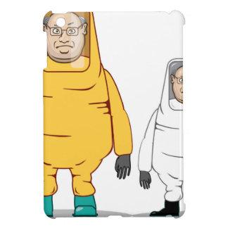 Protective Suit Illustration iPad Mini Covers