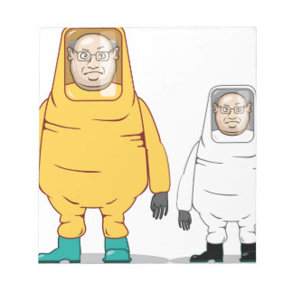 Protective Suit Illustration Notepad