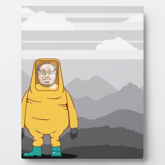Protective Suit Illustration Plaque