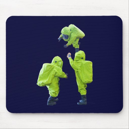 protective suit mouse pad