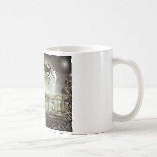 protector classic white coffee mug