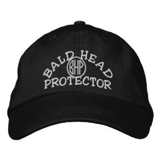 Protector de la cabeza calva gorra de beisbol