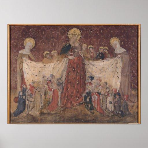 Protector de la Virgen, c.1417 Póster
