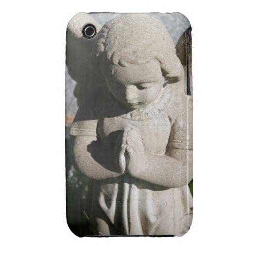 Protector del caso del ángel funda para iPhone 3