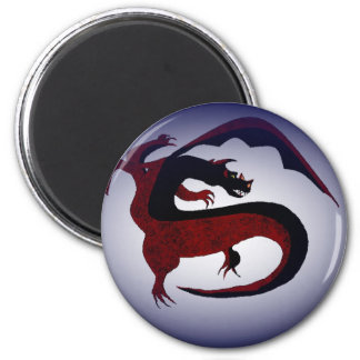 Protector Dragon 2 Inch Round Magnet