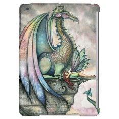 Protector Dragon Fairy Fantasy Art Ipad Air Cases at Zazzle