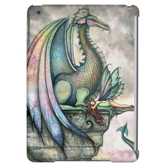 Protector Dragon Fairy Fantasy Art iPad Air Cover